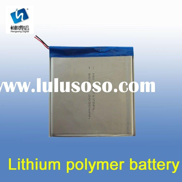 Lithium-ion Polymer Battery Packs for Model Airplane