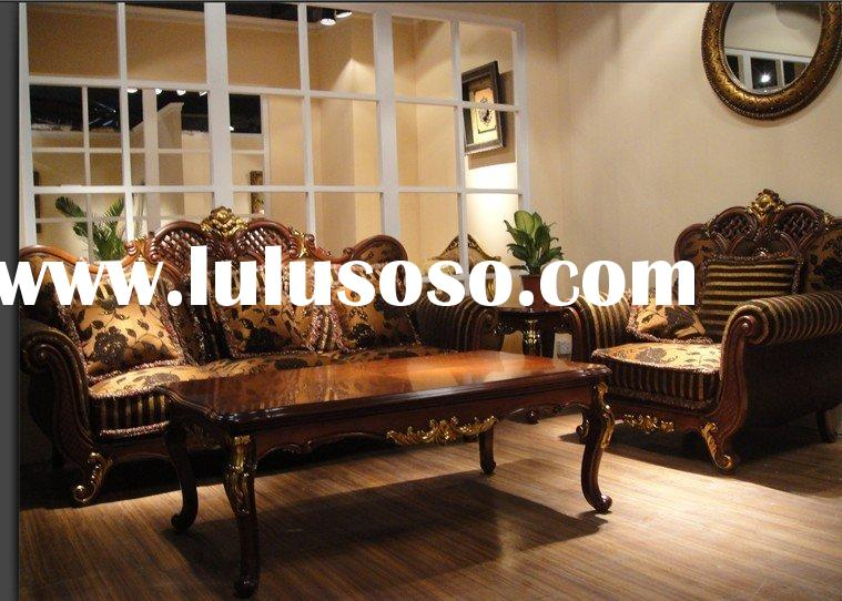 Living room home furniture sofa sets in European style YX-5191