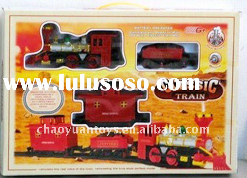 Lovely battery operated toy train with smoking and music BT68001889