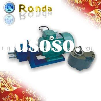 Low pressure hydraulic gear oil pump