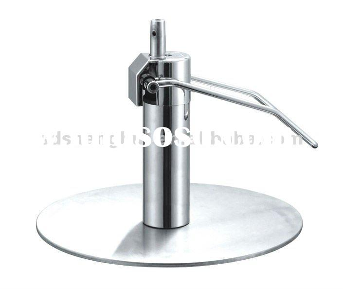 M03 hair chair Salon equipment-Hydraulic pump with salon furniture parts stainless steel around base