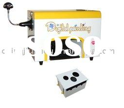 Magic rose and flower printing machine--6 years golden supplier