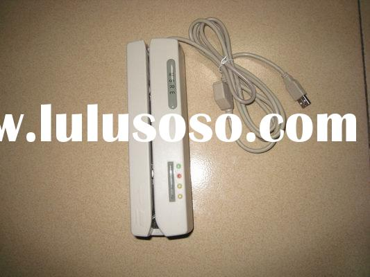 Magnetic strip card reader/writer Completely compatible with MSR206