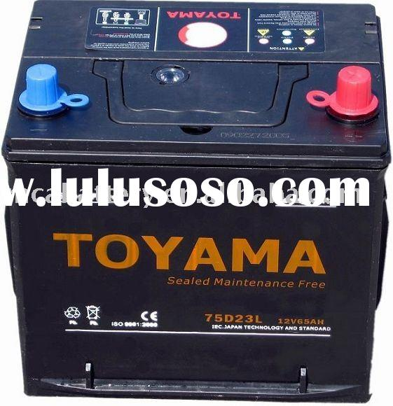 Maintenance Free car battery -75D23LMF