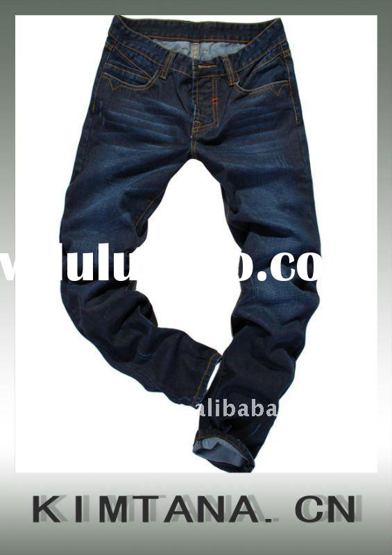 Men's fashion 100% cotton jeans