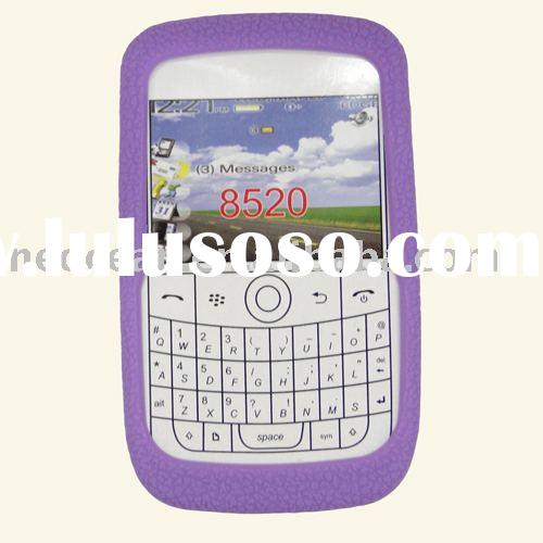 Mobile phone Silicon Case for Blackberry 8520,accept paypal