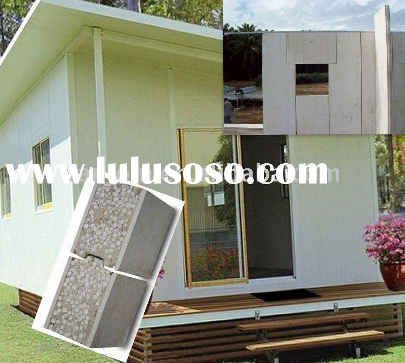 Modern Earthquake Proof Prefabricated House made by EPS Sandwich Panels