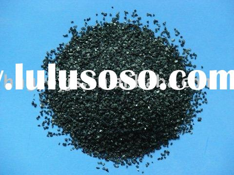 Modified nut shell activated carbon filter for water treatment