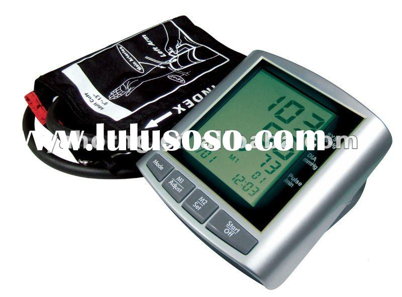 Multi-Functions Upper Arm Type Blood Pressure Monitor with wireless data transmission