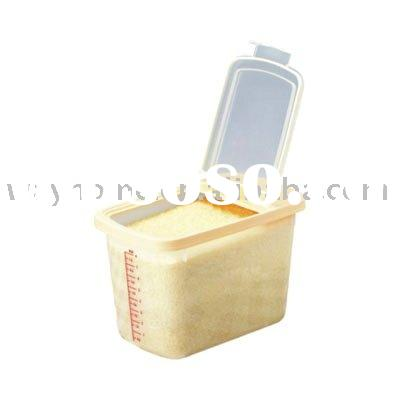 NEW Rice Dispenser,rice Food Storage/Store Beans, Rice, Seed Open Lid,Plastic Rice Container Storage