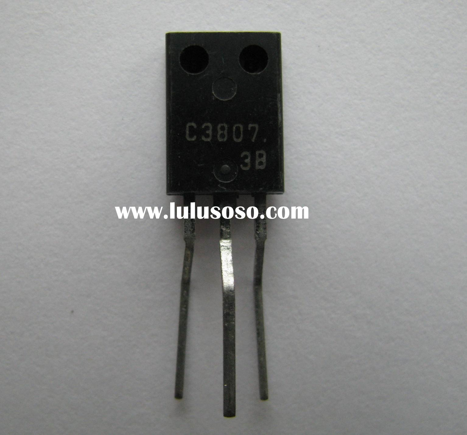 Npn Epitaxial Transistor Manufacturers In 13001 Electronic Ballast Circuit Planar Silicon 2sc3807m