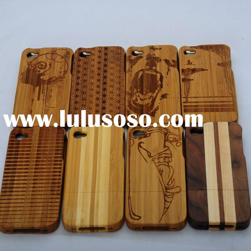 Natural Bamboo & Wood Case For iPhone 4 4S