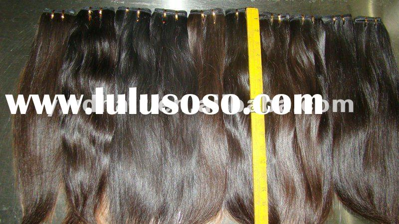 Natural brown color without chemical process with Full cuticle wholesale brazilian weave