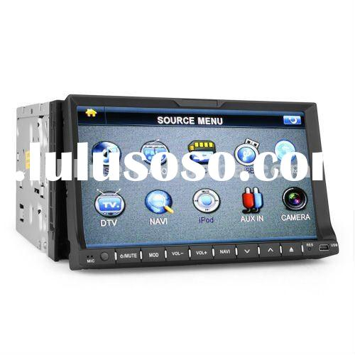 New 2012 Universal Dual zone GPS TV Digital 7 inch Touch Screen Car DVD/Car Audio
