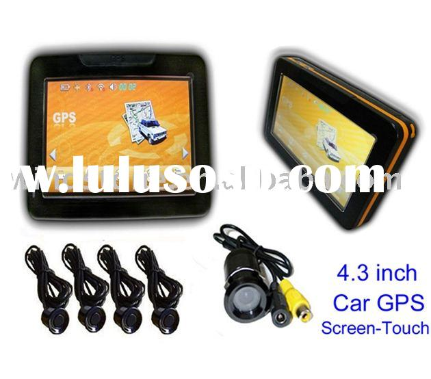 New!!!4.3 inch Car Gps Navigation System with Wireless Rearview Camera System(G943SC4)