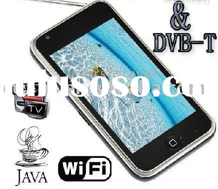 "New W009E DVBT WIFI TV JAVA GSM Dual SIM Quad Band Bluetooth 3.6"" Touch Mobile Cell Phone Unloc"
