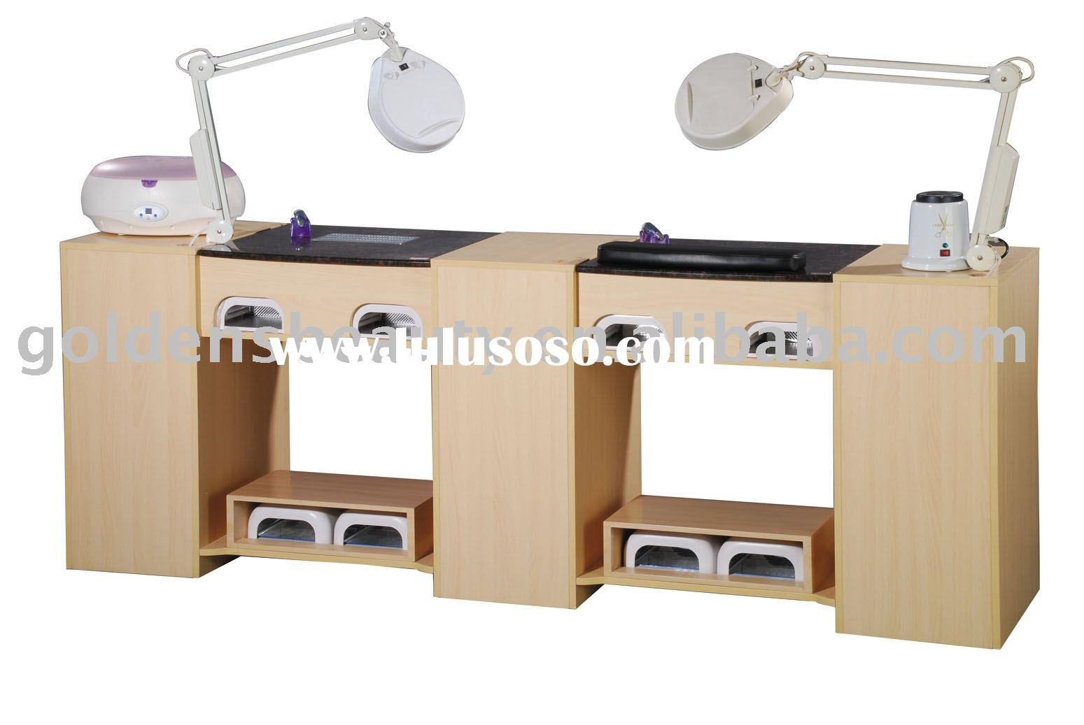 Nail manicure table nail manicure table manufacturers in for Nail salon table