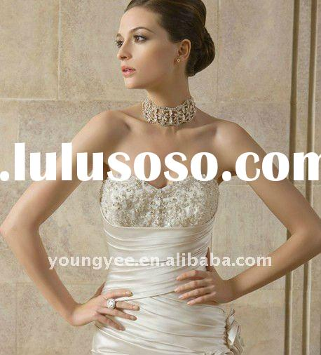 New dream mermaid corset wedding dresses, designer wedding dresses(WD10414)