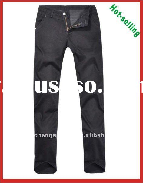 New style black cargo man pants pantalones, jeans for men
