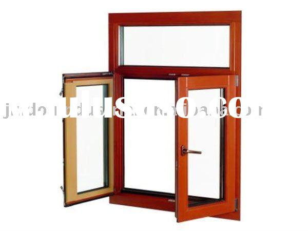 Wood with aluminum clad casement window wood with for Best wood window brands