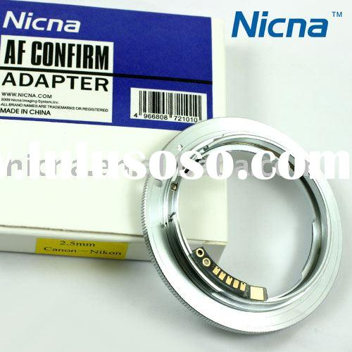 Nicna AF-confirmed Adapter Ring for Nikon Lens to Canon EOS EF Body