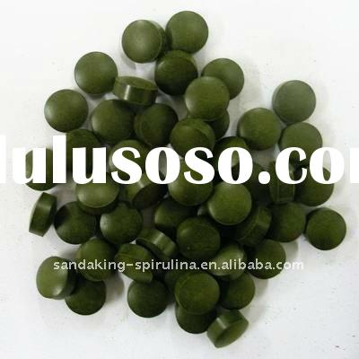 Organic chlorella tablets private label