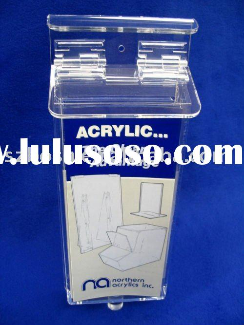 Outdoor Acrylic Brochure Holder,Plexiglass Literature Holder,Lucite Information Rack