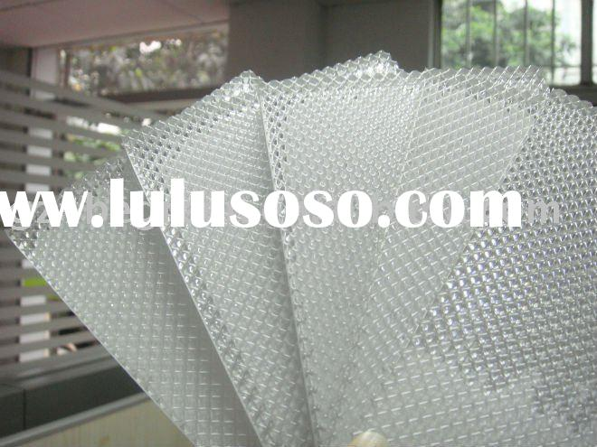 PC diamond solid sheet, polycarbonate embossed sheet, polycarbonate sheet, polycarbonate diamond she