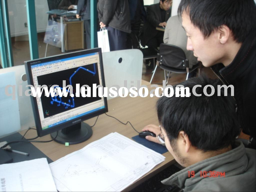 PDSOFT PIPING FABRICATION DETAIL DESIGN SOFTWARE SYSTEM;PLANT DESIGN SOFTWARE SYSTEM;PIPE DESIGN VAL