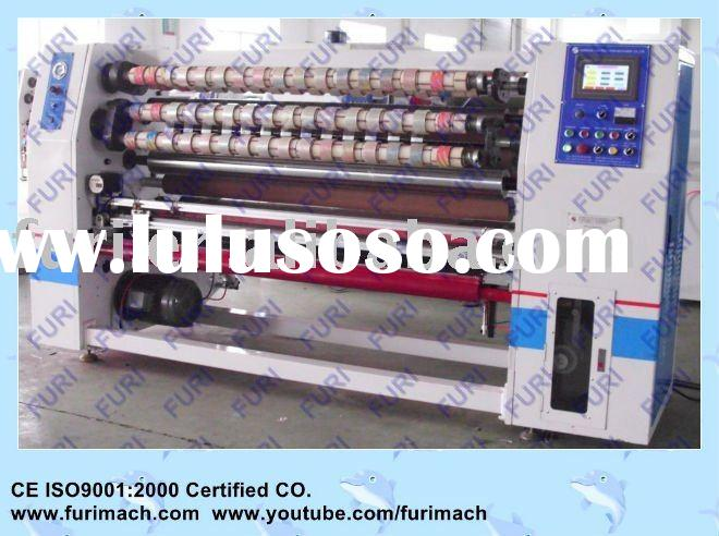 PLC Control BOPP Adhesive Tape Slitting Machine (CE)