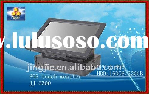 POS SYSTEM Restaurant /supermarket cash register One-in-all pos touch machine JJ-3500