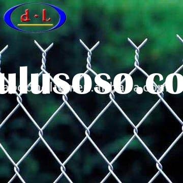 PVC Coated Chain Link Fence(Manufacturer,ISO900:2000)