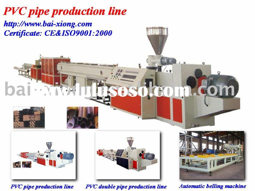 PVC Pipe making Line Dranige pipe