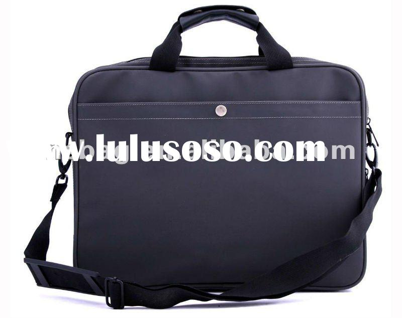PVC artificial leather office bags for men