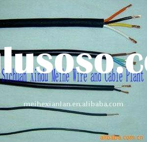 PVC insulated and coated copper wire 2*0.5