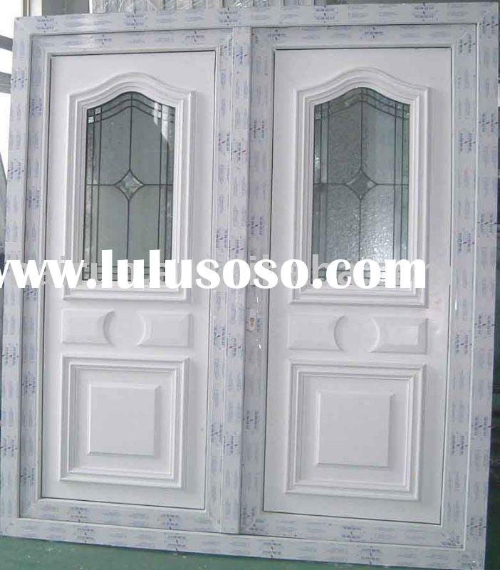 PVC window and door, casement door, french door, pvc and upvc half panel and half glass