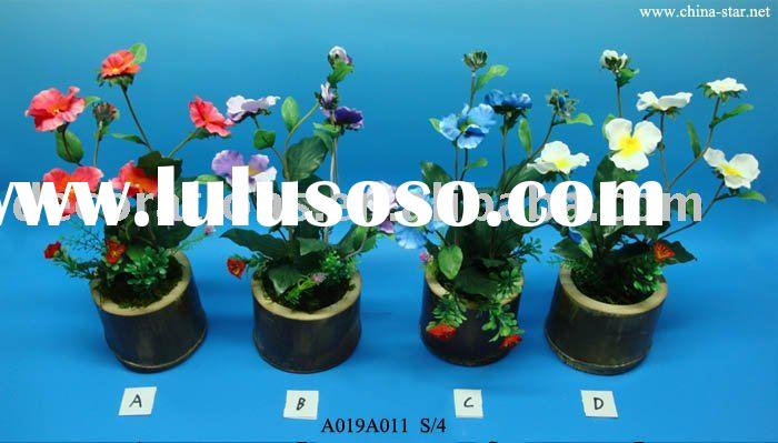 Pansy Bonsai - Artificial Flower