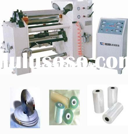 Paper , Sticker ,PVC /PET film ,Aluminium foil slitting machine