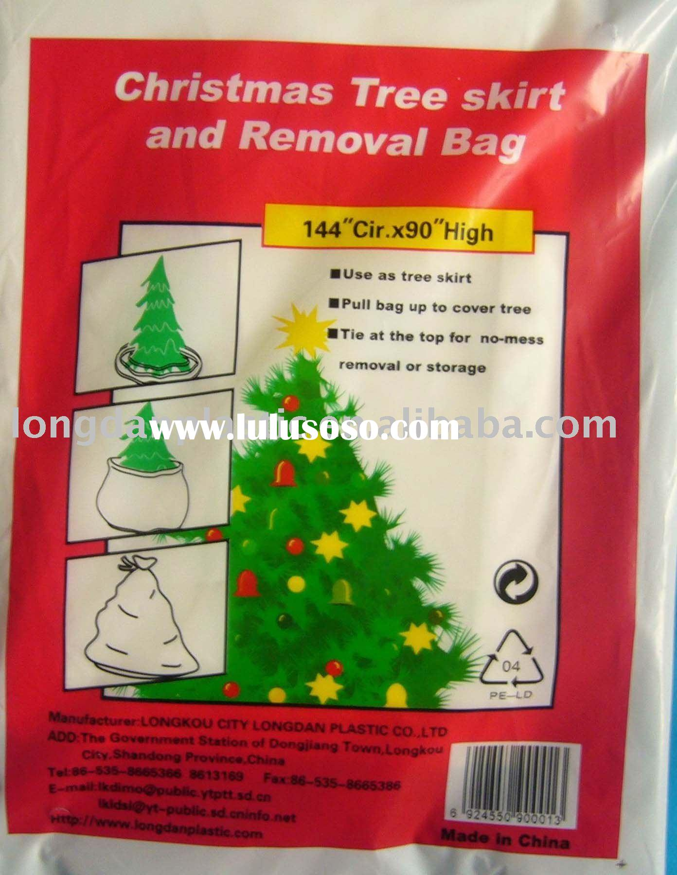 Plastic Christmas Tree Bag