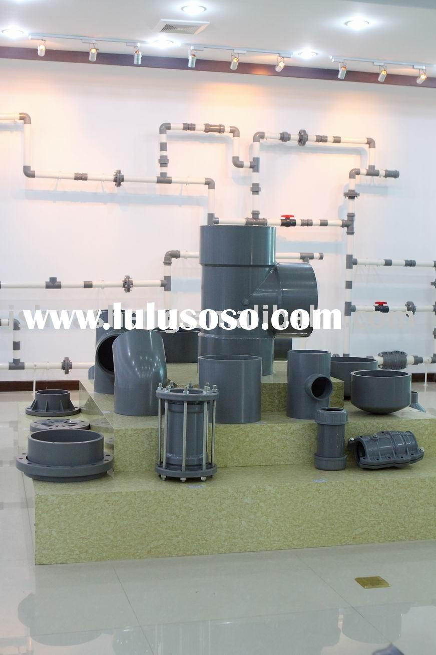 Plastic Pipe Fitting For Water Supply (PVC,PE)