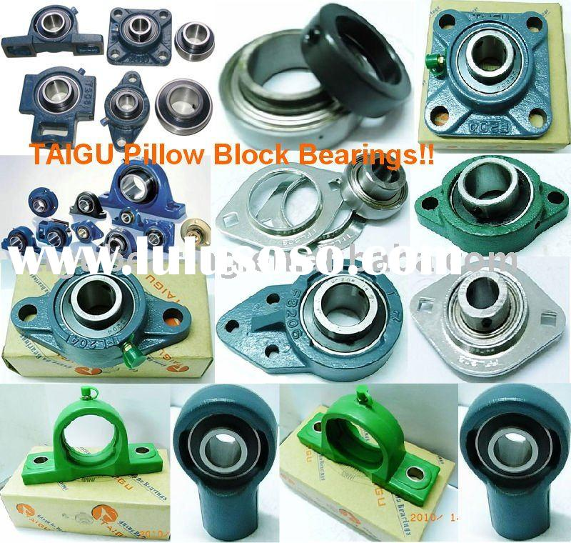 Plummer block in Pillow block bearing and spherical insert ball bearing