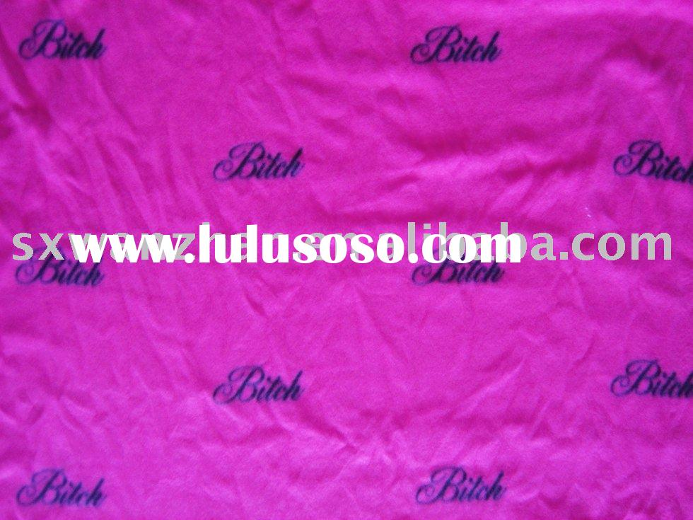 Polar Fleece/ polyester Brushed Fleece fabric /Printed polar fleece fabric