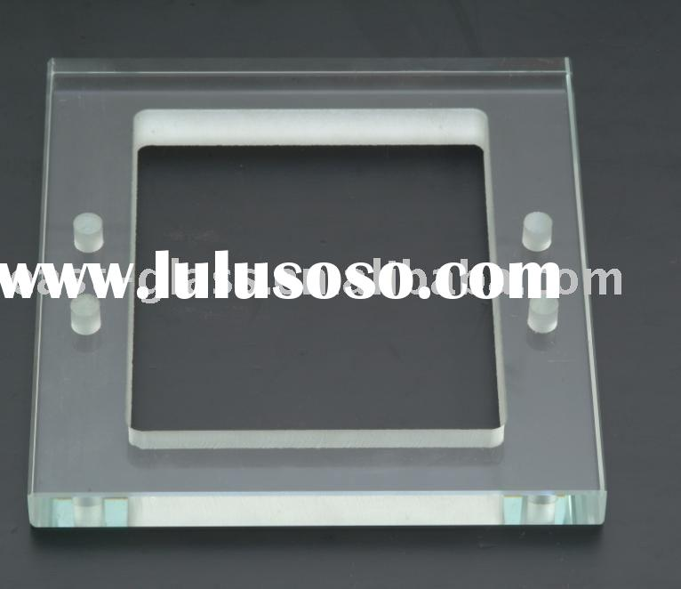 Polished edge glass/tempered glass