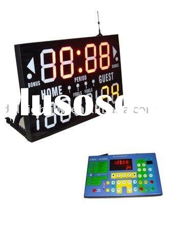 Portable Electronic Basketball Scoreboard