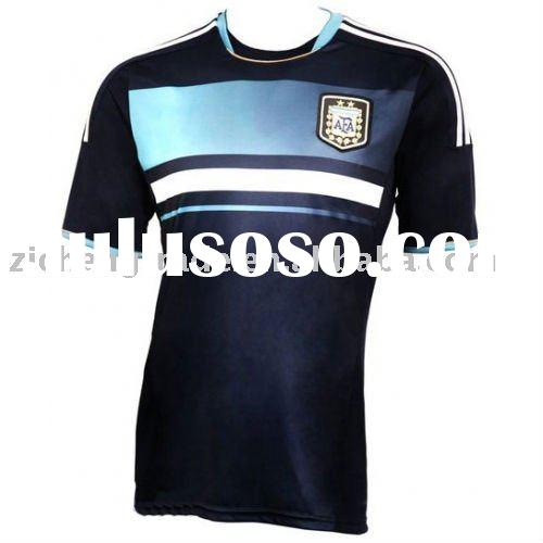Preemptive Argentina Away National Soccer Jersey 2011 2012