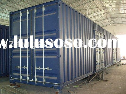 Prefab House -- Modified Sea Container House