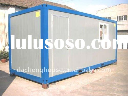 Prefabricate Single PU Sandwich Panel 20ft Container House For Living/Office