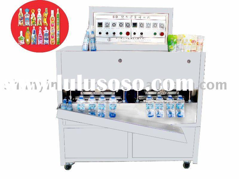 Premade pouch filling packaging machine