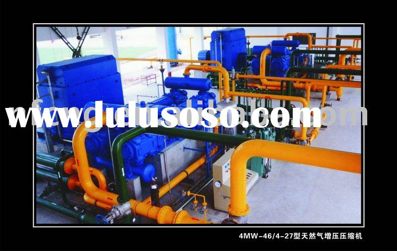Pressure Booster Compressor For Natural Gas Transmission Pipeline Network And Gas Power Plant