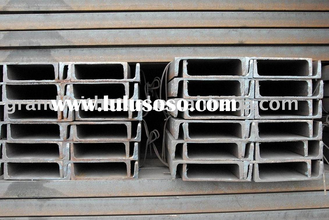 Prime Hot Rolled Steel Channels
